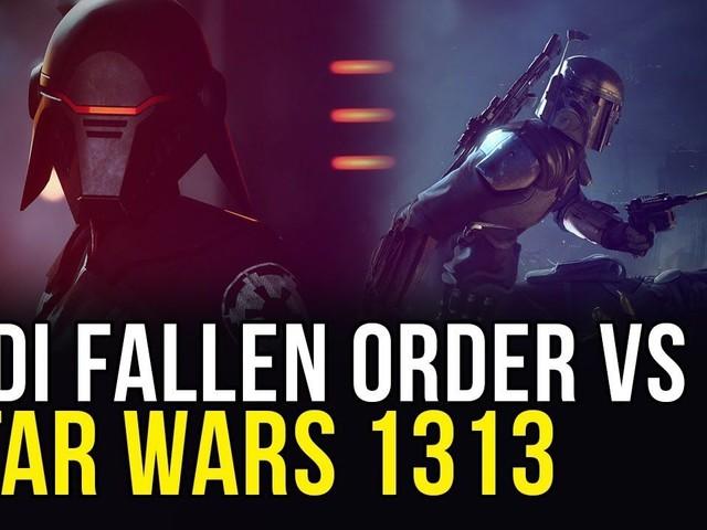 Star Wars Jedi Fallen Order vs Star Wars 1313: demo a confronto in un video