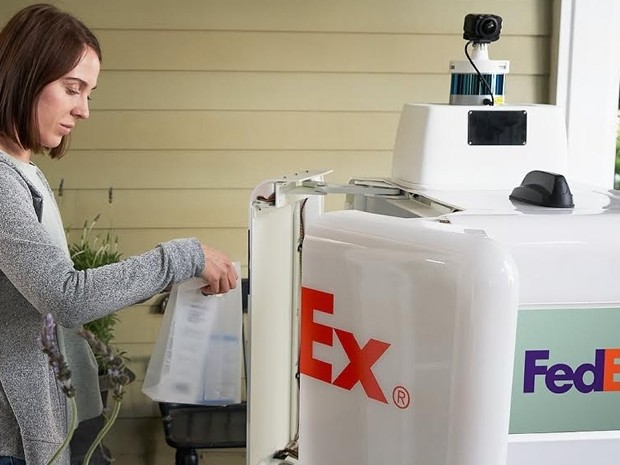 Robot Roxo to help FedEx for same-day, last-mile deliveries