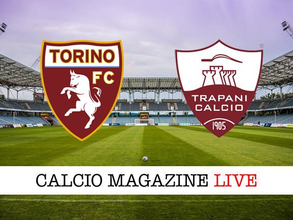 Torino-Trapani: risultato e tabellino della partita di Coppa Italia