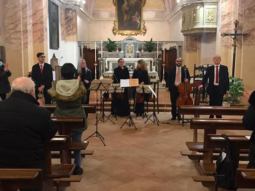 Torricella del Pizzo, nell'anno più duro (e solidale) non manca il concerto di auguri di Natale