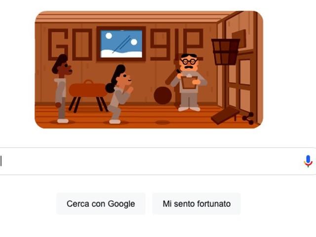 Il doodle di Google che omaggia l'inventore del basket