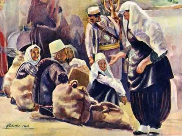 """Una serie di venti cartoline a colori della """"Edizione del Turismo Albanese"""" del 1940"""