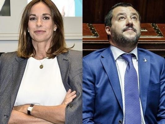 Cristina Parodi: «L'ascesa di Salvini è dovuta anche all'ignoranza». La risposta della Lega: «Via dalla Rai»