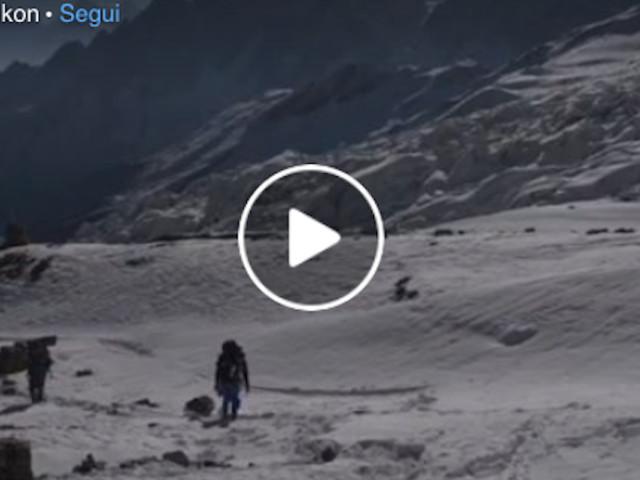 Invernale al Manaslu 2020-2021: Moro e Txikon a Campo 1 (5700 m)