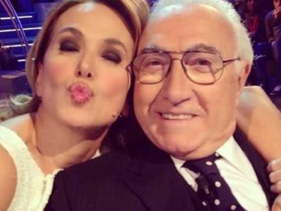 """Pippo Baudo elogia Barbara d'Urso: """"L'erede di Paola Borboni!"""", Carmelita ringrazia"""