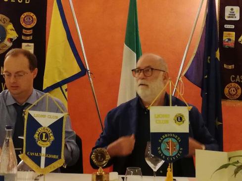 I Lions di Casalmaggiore e Sabbioneta inaugurano insieme l'anno sociale
