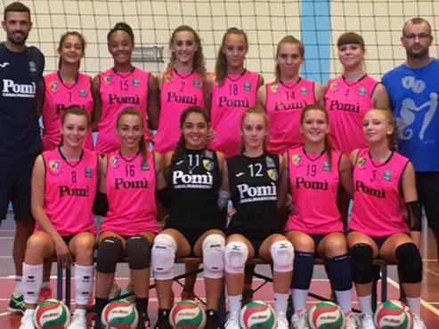 9° edizione della Girl League (Under 16): ecco la Vbc Èpiù Pomì Union bremas Jesolo