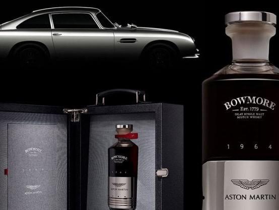 Whisky Aston Martin DB5 e profumo Bentley. Le nuove frontiere del lusso