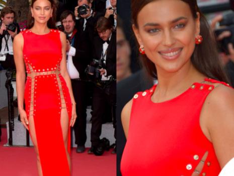 Irina Shayk – un abito mozzafiato sulla Croisette di Cannes