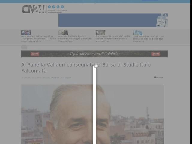 Al Panella-Vallauri consegnata la Borsa di Studio Italo Falcomatà