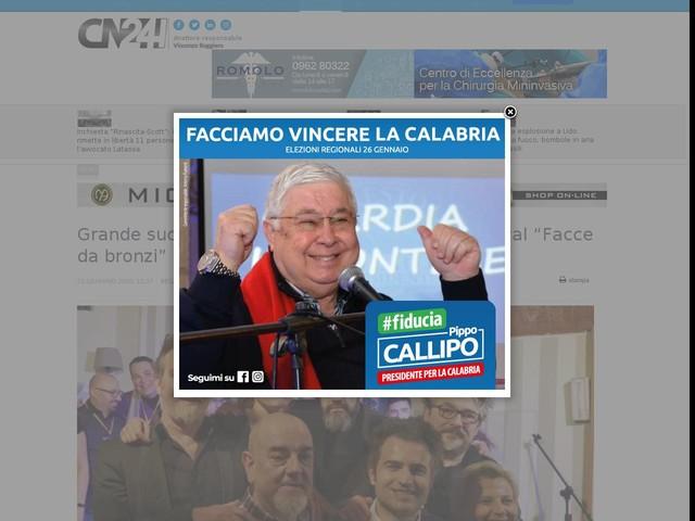 """Grande successo per la tappa milanese del Festival """"Facce da bronzi"""""""