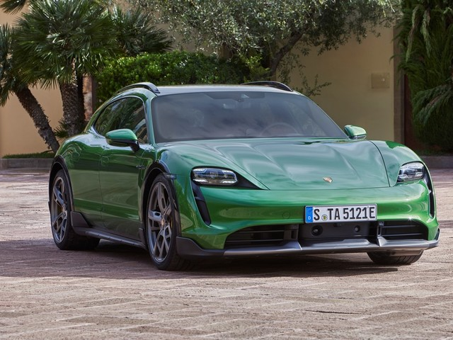 Anteprima virtuale della Porsche Taycan Cross Turismo