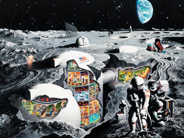 """Missione Spaziale Apollo 11 e missione Beyond: """"torneremo sulla Luna tutti insieme in un'ottica nuova"""""""