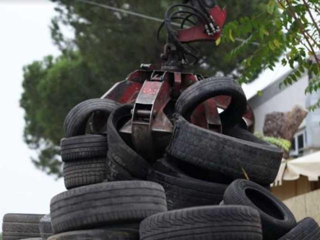 Nemmeno il Covid-19 ha fermato la raccolta degli pneumatici fuori uso