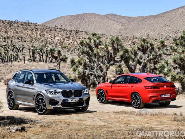 BMW X3 e X4 - Fino a 510 CV per le nuove M