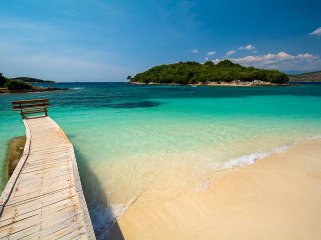 Il mare più bello dell'Albania: le spiagge di Ksamil
