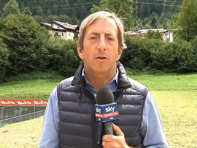 Il Napoli lascia Dimaro. E c'è chi lo fa in elicottero...