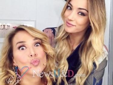 Soleil Sorgè pubblica un selfie con Barbara D'Urso