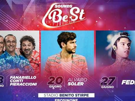 ?Fedez e Alvaro Soler a Frosinone a giugno