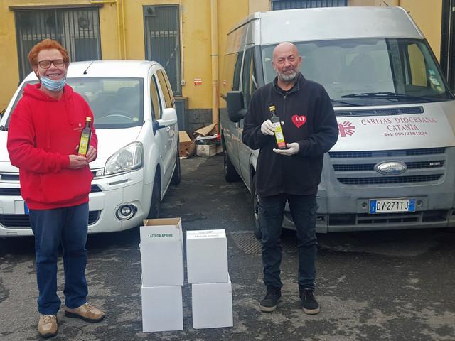 Lilt: salta settimana della prevenzione donati 60 litri d'olio alla Caritas