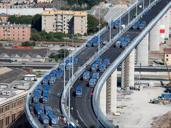 Genova: alle 18 l'inaugurazione del nuovo ponte S.Giorgio Due anni fa morirono 43 persone