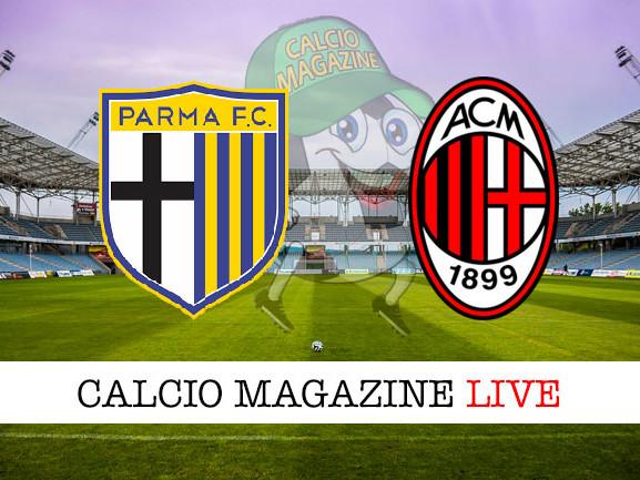 Parma – Milan: cronaca diretta live, risultato in tempo reale