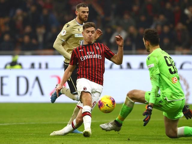 Coppa Italia, il Milan stende 3-0 la Spal: i rossoneri ai quarti di finale