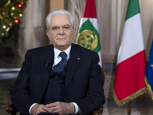 """Il discorso di Mattarella: """"L'Italia ritrovi fiducia"""""""