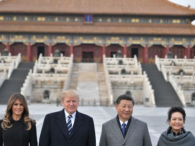 Donald Trump arriva in Cina - FOTO