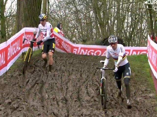 Ciclocross, Wout van Aert vince la gara di Overijse e la classifica di Coppa del Mondo