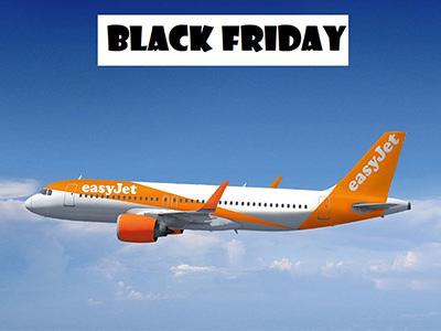EasyJet Black Friday: Voli scontati fino al 30%