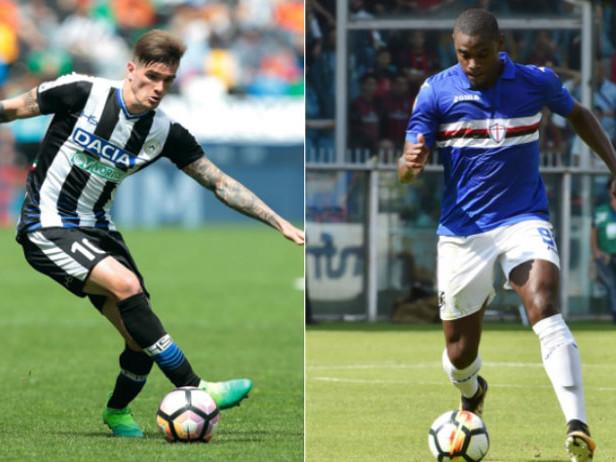 Le probabili formazioni di Udinese-Sampdoria