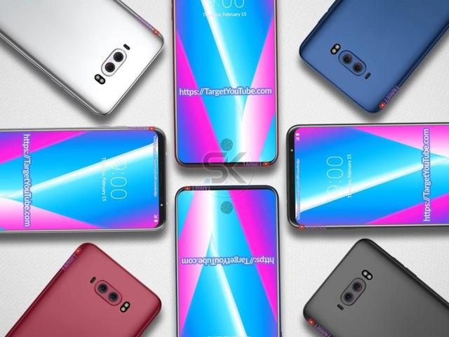 LG V40 compare in un primo video concept con design bezel-less, Snapdragon 845 e lettore d'impronte nel display