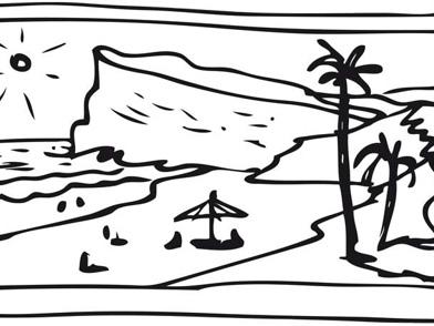Spiaggetta deserta