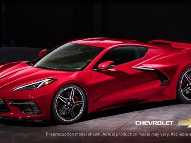 Chevrolet Corvette Stingray 2020, supercar dal motore centrale