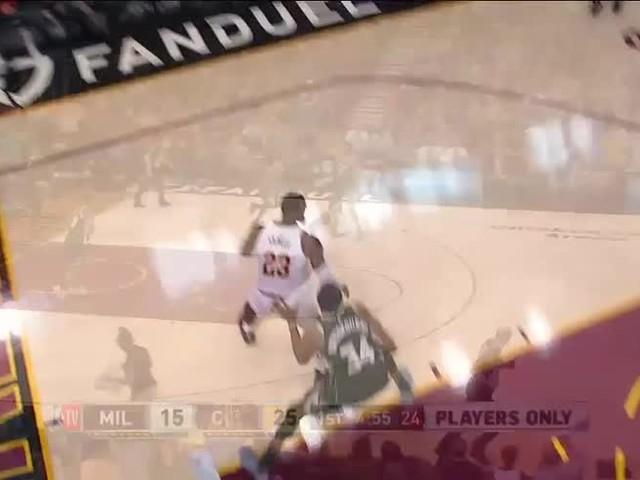 NBA, Move of the Night: LeBron James