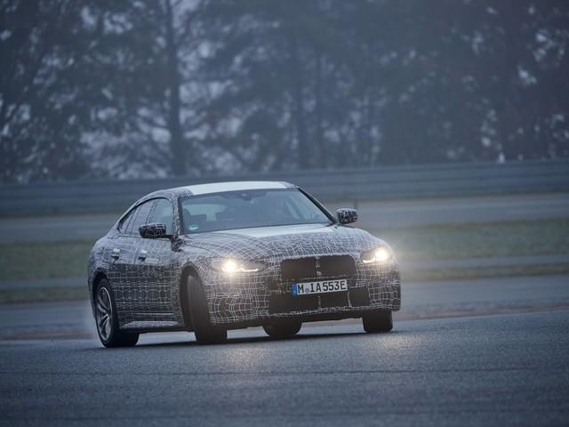 Nasce la BMW i4, la prima Gran Coupé a 4 porte full electric