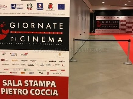 Giornate Professionali di Cinema al via