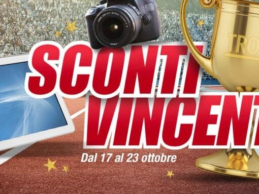 """Offerte Trony """"Sconti Vincenti"""" 17-23 ottobre: OPPO A72, iPad 10,2″ e tanto altro"""