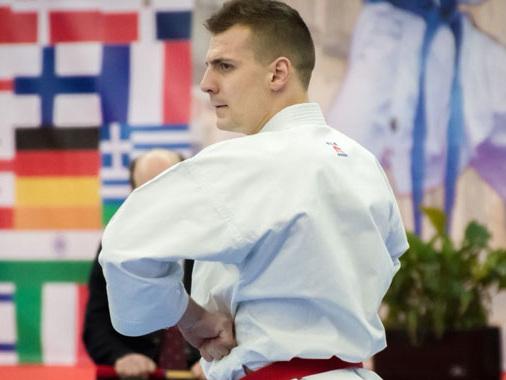 Devid Lena, ancora ottime prestazioni nella WKF di Karate