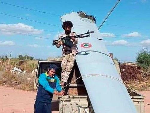 "Mabrouk Al-Ghazawi: ""Drone italiano abbattuto in Libia"""
