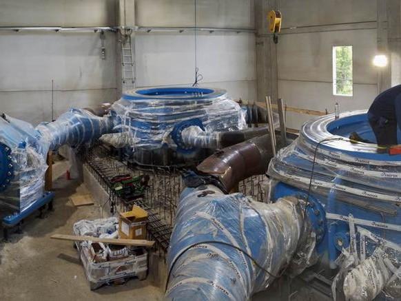 Con la nuova centrale di Arvier Eaux valdotaines raddoppia la produzione