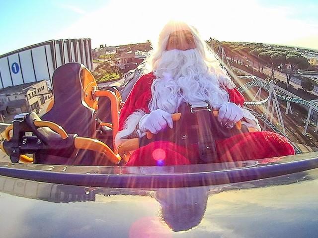 Party Speciale a Cinecittà World per inaugurare l'arrivo del Natale