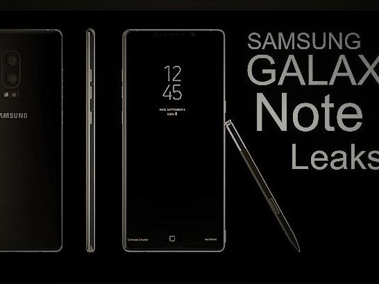 Data uscita prezzi e colori Galaxy Note 8: mese Settembre 2017