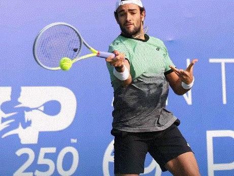 ATP Antalya: Matteo Berrettini spreca troppo nel primo set e viene eliminato da Alexander Bublik (con il video della partita)