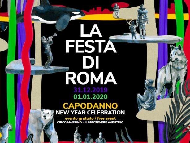 Capodanno, La Festa di Roma 2020: 1000 artisti per 24 ore. Ecco il programma completo