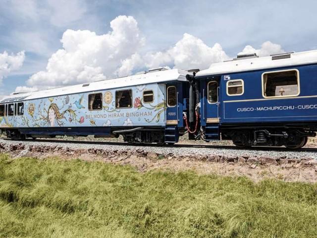 C'è un Orient Express ispirato all'arte che corre tra paesaggi mozzafiato