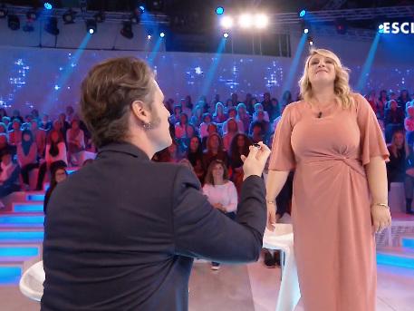 Katia Follesa, nuova proposta di matrimonio a Verissimo
