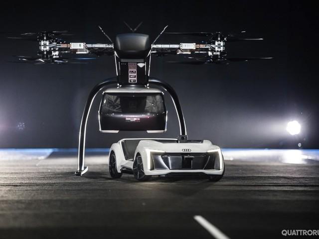 Audi - Sospeso il progetto per il taxi aereo Pop.Up