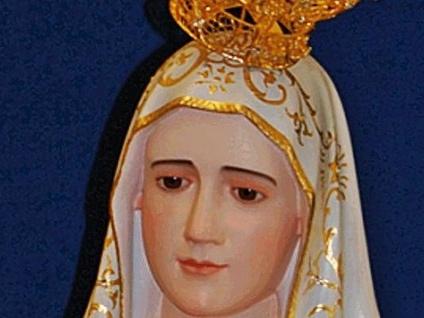 La statua della Madonna di Fatima arriva nella basilica a San Vittore
